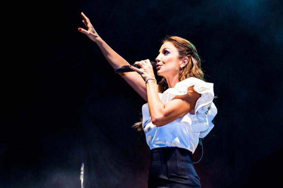 A cantora baiana Ivete Sangalo se apresentou no Araújo Vianna em Porto Alegre com o show Intimista
