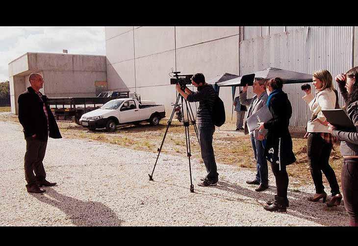 """Confira fotos do documentário """"Bagé, O Tempo e o Vento"""", produção dos alunos da disciplina de Projeto Experimental em Telejornalismo da Urcamp de Bagé (Universidade da Região da Campanha), exibido no programa Faixa Universitária"""