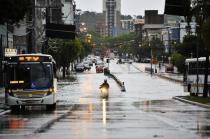 Avenida Erico Verissimo, em Porto Alegre.