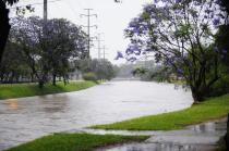 Situação do Arroio Dilúvio, em Porto Alegre.